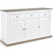 Buffet provenzale shabby bianco