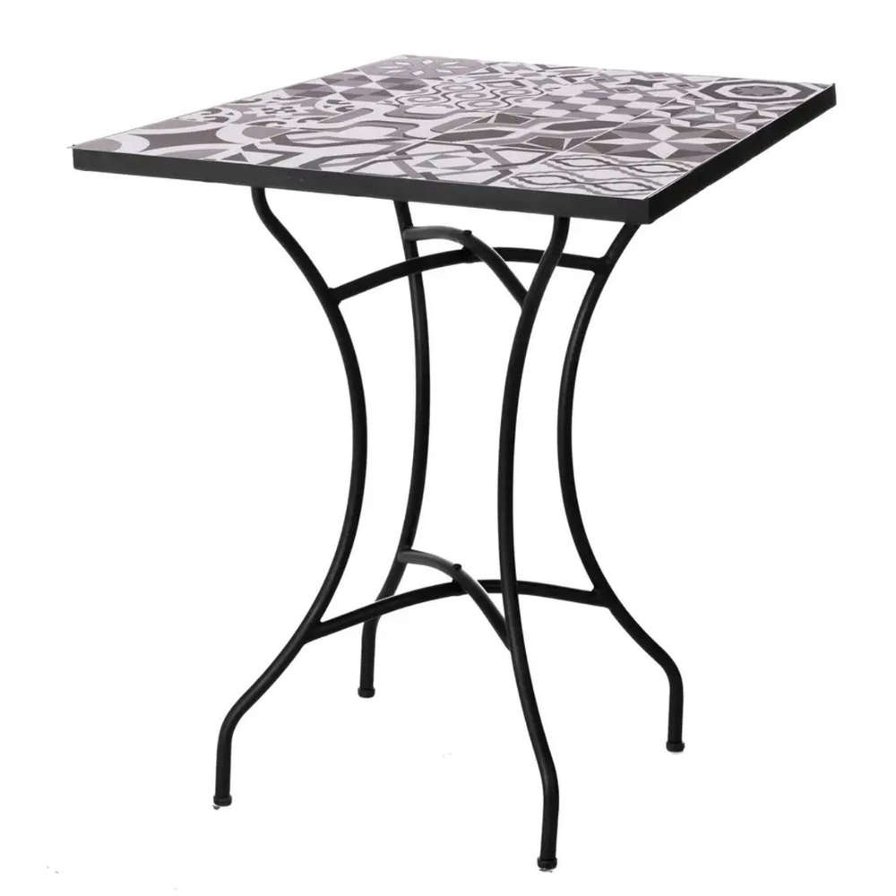 Tavoli Da Giardino Decorati.Tavolo Da Giardino Con Top Decorato Offerte Tavoli Ferro