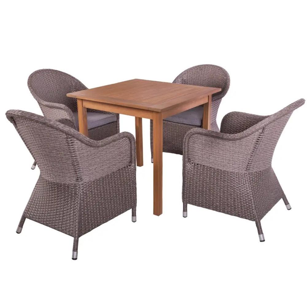 Set tavolo e 2 poltrone da giardino OFFERTA