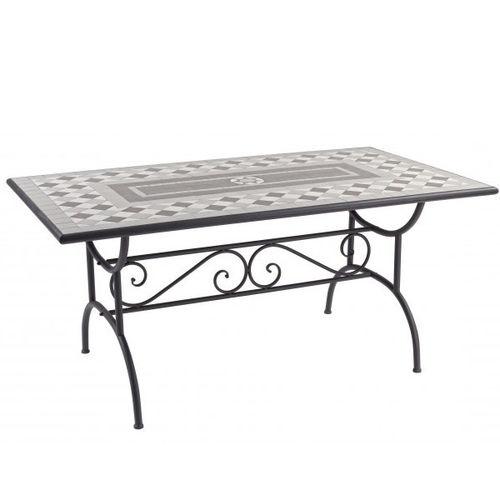 Tavoli Da Giardino Con Piano In Ceramica.Tavoli Ferro Battuto Provenzali Vintage Industrial Shabby Online