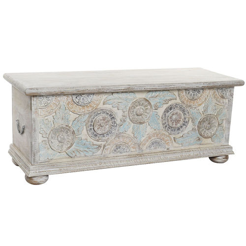 Baule shabby decapato in mango