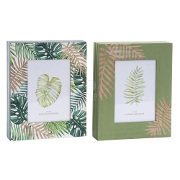 Cornici set 2 PZ portafoto jungle chic