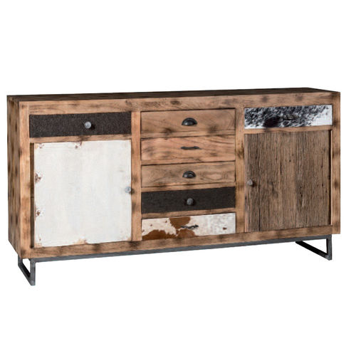 Mobile buffet legno africa