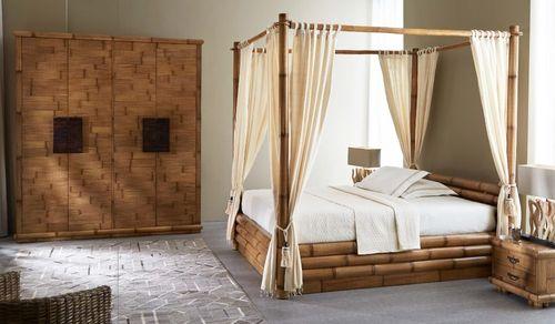 Armadio etnico bambù 6 ante OUTLET Mobili Etnici Industrial