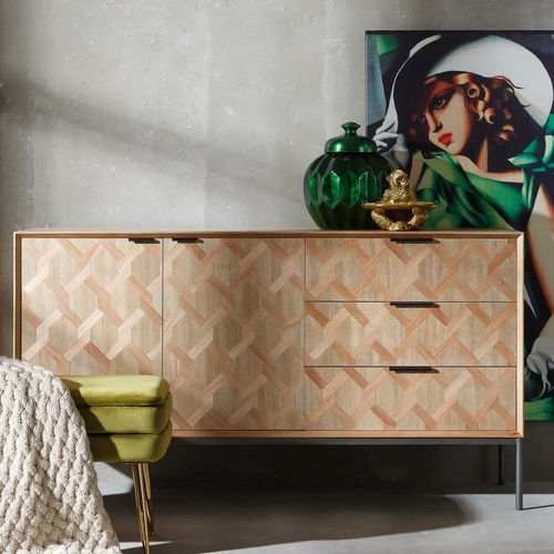 Credenza industrial naturale