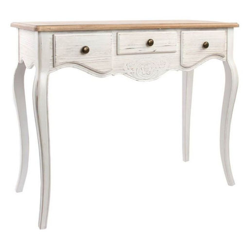 Consolle francese decorata shabby