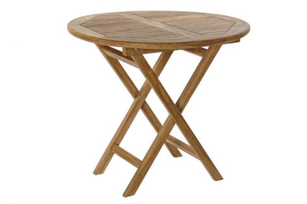 Set Tavolo + 4 sedie teak pieghevoli Mobili per esterno ...