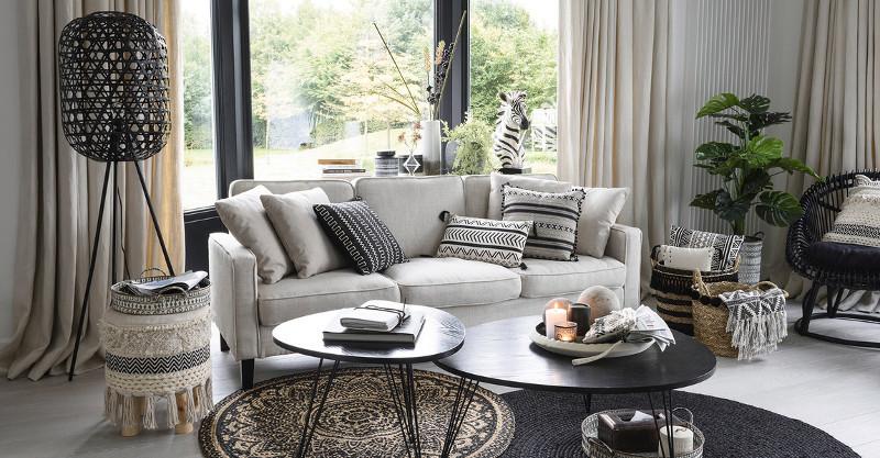 Stili d 39 arredamento etnico outlet mobili for Stili casa arredamento
