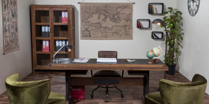 Scrivanie industrial e vintage vendita on line offerte 70 for Mobili ufficio outlet