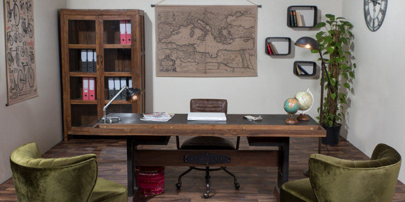 Scrivanie industrial e vintage vendita on line offerte 70 for Vendita mobili design on line